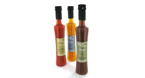 Les préparations culinaires à base de vinaigre aux pulpes de fruits