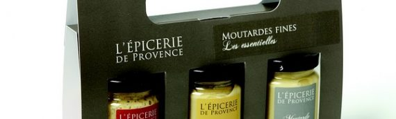 Les coffrets de moutardes aromatisées