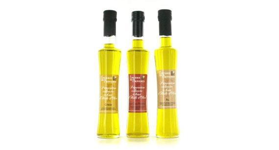 Les préparations culinaires à base d'huile d'olive
